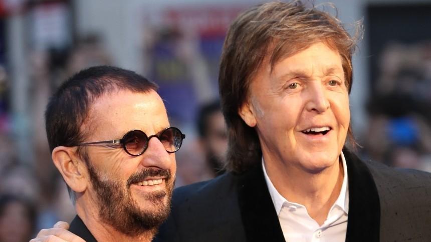 Ринго Старр выпустил песню ианонсировал альбом сучастием Пола Маккартни