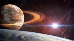 «Яркая двойная звезда»: космонавт сМКС показал фото сближения Сатурна иЮпитера