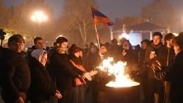 Протест вЕреване перешел вкруглосуточный формат— видео