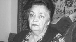 Умерла бывший директор бесланской школы №1, пережившая теракт