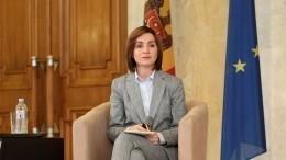 Избранный президент Молдавии Санду принесла присягу ивступила вдолжность