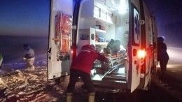 Пассажирский автобус столкнулся сгрузовиком вНовосибирской области— фото