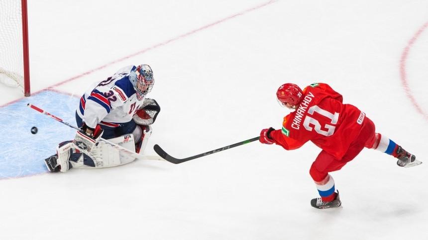 Видео израздевалки: хоккейная сборная РФрадуется победе над США наМЧМ-2021