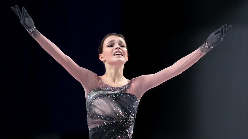 Анна Щербакова стала победителем Чемпионата РФпофигурному катанию