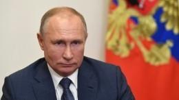 Песков: Путин принял решение привиться откоронавируса