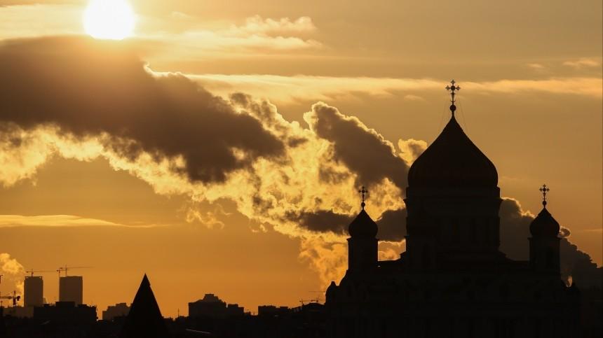 Москву ожидает аномально холодное начало недели