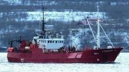 Уголовное дело возбуждено пофакту затопления судна «Онега» вБаренцевом море