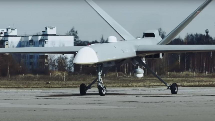 Российский беспилотник «Орион» впервые провел стрельбу управляемыми ракетами