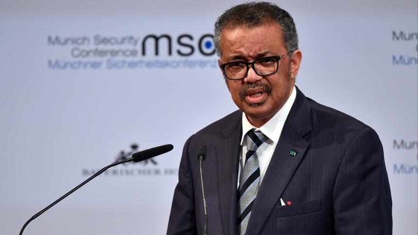 Глава ВОЗ назвал мутации коронавируса вызовом в2021 году