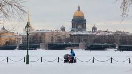 Жители Петербурга невидели солнце 15 дней подряд