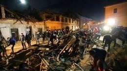 ВХорватии после землетрясения продолжаются поиски людей под завалами