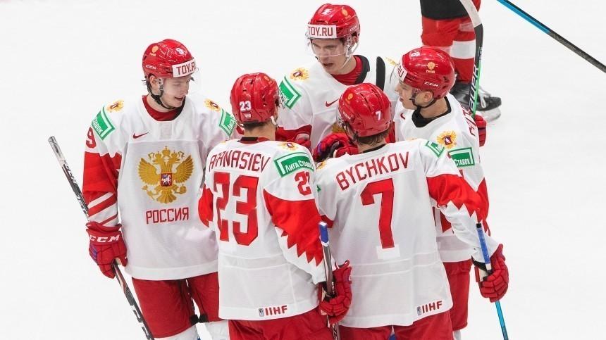 Российская сборная порвала команду Австрии наМЧМ похоккею