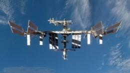 Российские космонавты поздравили жителей Земли сНовым годом сорбиты МКС