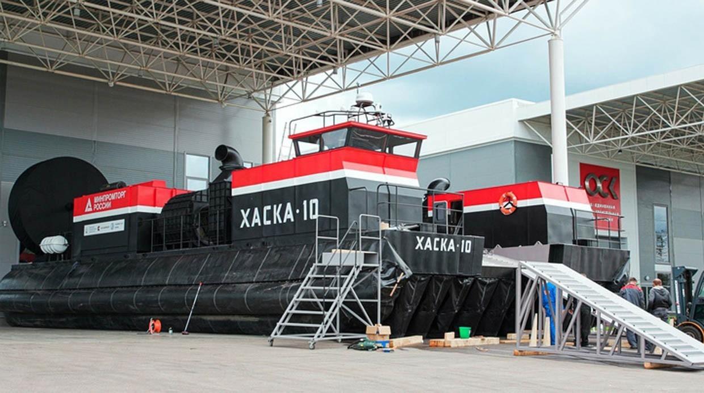 Путин: вРоссии появится десятитонное судно навоздушной подушке