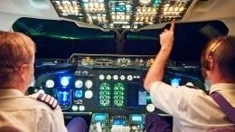Видео: Пассажирский самолет едва неразбился из-за новогодней мишуры накрыльях