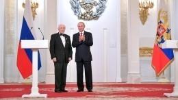 Путин поздравил сднем рождения балетмейстера, открывшего миру Волочкову