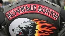 «Ночные волки» поздравили сНовым годом пациентов детской больницы вМоскве