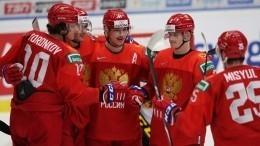 Молодежная сборная РФпохоккею пробилась вполуфинал чемпионата мира