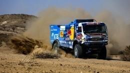 Экипаж «КАМАЗ-мастер» выиграл второй этап ралли «Дакар» взачете грузовиков