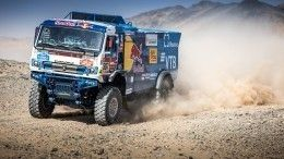 Пилот «КАМАЗ-мастер» Сотников пришел вторым натретьем этапе ралли «Дакар»