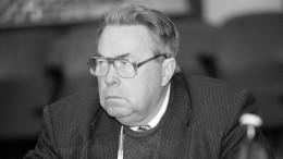 Скончался бывший губернатор Камчатки Владимир Бирюков