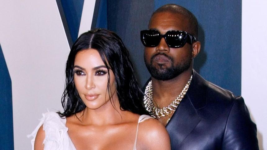 Ким Кардашьян решила развестись сКанье Уэстом