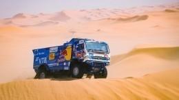 Сотников победил вчетвертом этапе ралли «Дакар» взачете грузовиков