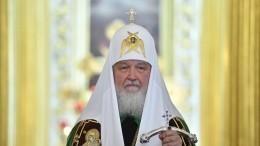 Патриарх Кирилл поздравил россиян сРождеством Христовым— видео