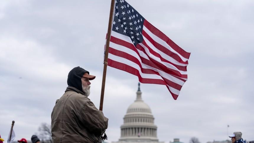 Пушков назвал захват Конгресса США наследием политической войны против Трампа