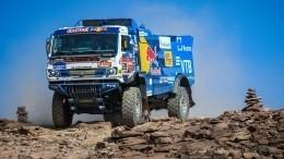 Мардеев впервые обошел Сотникова нашестом этапе «Дакара» взачете грузовиков