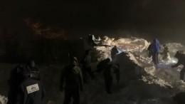 Двое детей идвое взрослых пропали без вести после схода лавины под Красноярском
