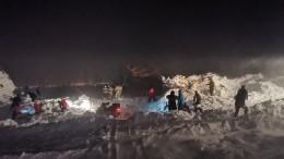 Четырех человек нашли живыми после схода лавины под Красноярском