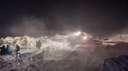 Тело мужчины найдено наместе схода лавины вНорильске