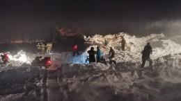 Поисковые работы наместе схода лавины вНорильске завершены