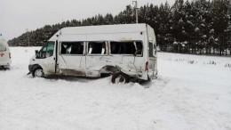 Женщина иребенок погибли при столкновении двух автобусов вБашкирии