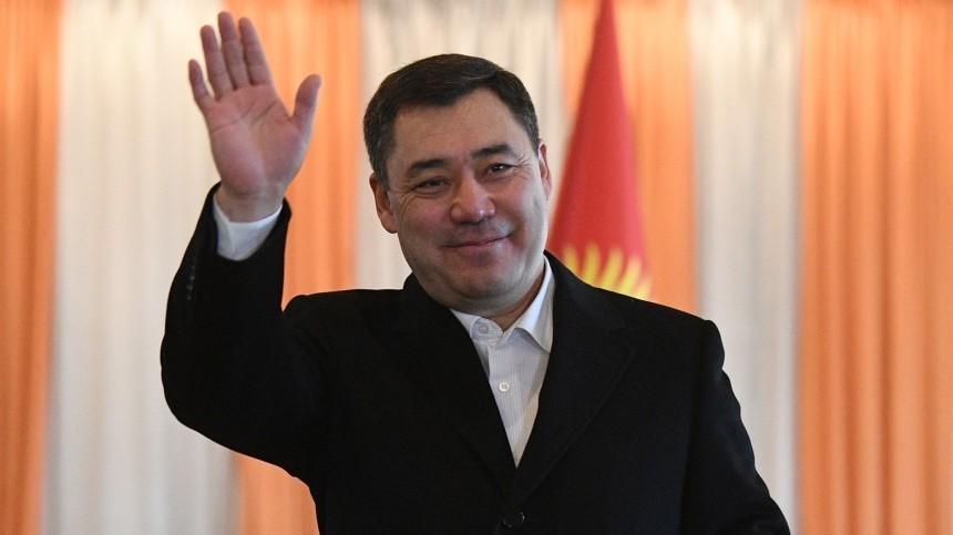 Садыр Жапаров лидирует напрезидентских выборах вКиргизии