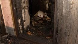 «Выкинула нам ребенка»: полицейский рассказал, как спас девочку изпожара вПетербурге
