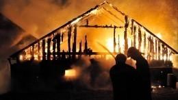 Очевидец рассказал, что жертв пожара вдоме престарелых под Тюменью могло быть меньше