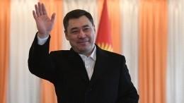 Навыборах президента вКиргизии лидирует Садыр Жапаров