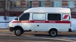Видео сместа массового ДТП своенными под Москвой