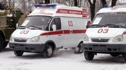 Влетел самосвал: два человека погибли вмассовом ДТП своенными под Москвой
