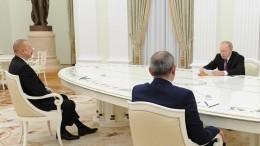 Главы РФ, Армении иАзербайджана дали старт экономическому возрождению Нагорного Карабаха