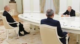 Перед встречей сПутиным Алиева иПашиняна посетили российские медики