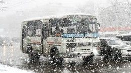Сильнейший снегопад обрушился наМоскву вночь наСтарый Новый год