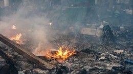 ВКомсомольске-на-Амуре неизвестные сожгли будку ссобакой ищенками