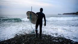 Забавы недля слабаков: серфингисты под Петербургом ловили волну при минус12