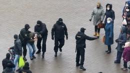 ВМинске назвали фейком опубликованную оппозицией запись одействиях силовиков