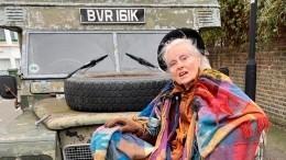 79-летняя Вивьен Вествуд обнажилась ради защиты экологии вмире
