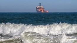Посольство РФвыясняет судьбу членов экипажа сзатонувшего вТурции сухогруза