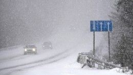 Проверяет напрочность: центральные районы РФсковал холод, наюге выпал снег
